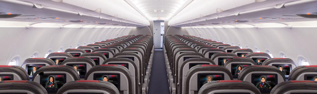 Main Cabin seats